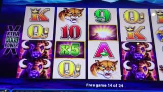 Buffalo Deluxe 5X5 Win at Chumash Casino & Resort, Santa Ynez, CA