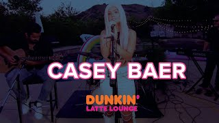 Casey Baer Performs Live At The Dunkin Latte Lounge
