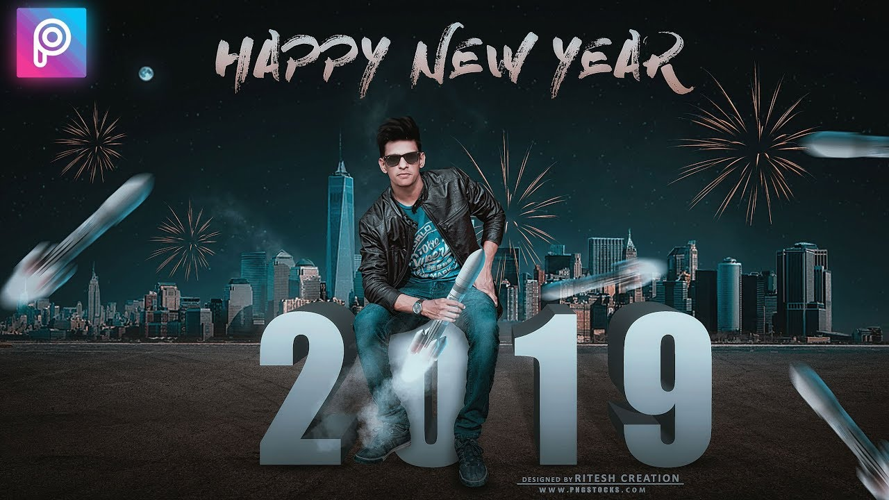 Picsart 2019 Happy New Year Editing New Year 3d Text Png Manipualtion Editing In Hindi Youtube Happy new year 2019 greeting card design with gift boxes and baubles illustration on glossy background for merry christmas festival celebration. picsart 2019 happy new year editing new year 3d text png manipualtion editing in hindi