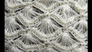Repeat youtube video Crochet : Punto Abanico # 4