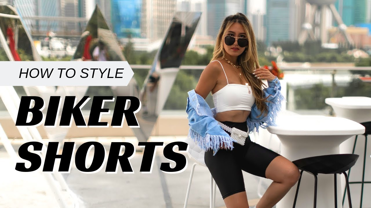 How to style Biker Shorts with a SHEIN Haul!
