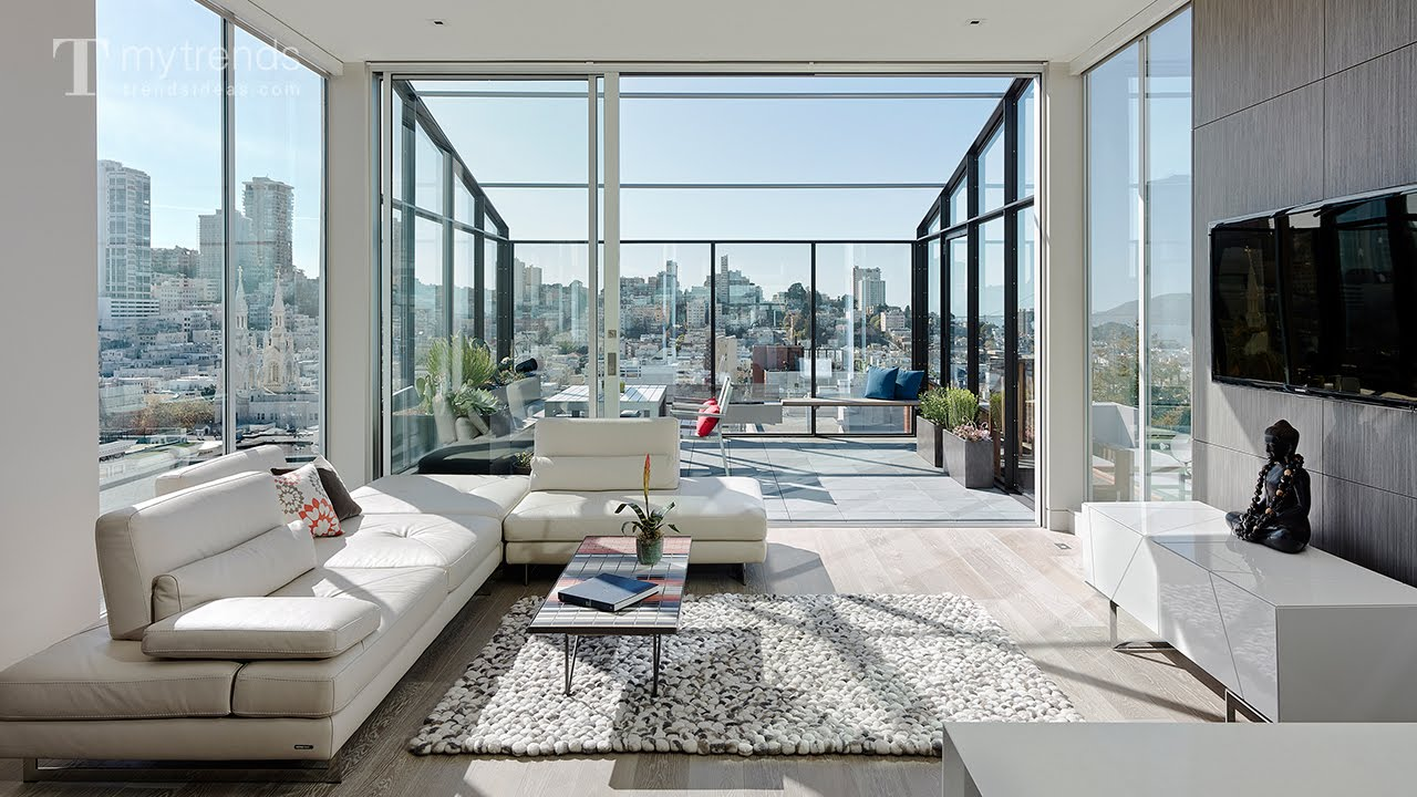 San Francisco row house remodel opens up a loft-style living area ...