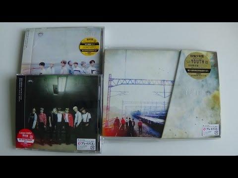 Unboxing BTS (Bangtan Boys) 防彈少年團 2nd Japanese Studio Album YOUTH [All Editions]