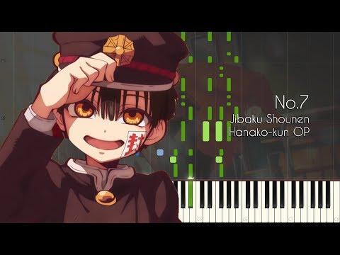 [FULL] No.7 - Jibaku Shounen Hanako-kun OP - Piano Arrangement [Synthesia]