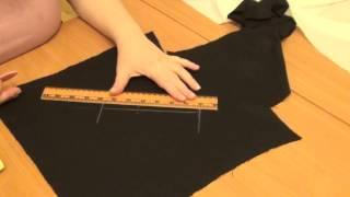 видео Вертикальный прорезной карман