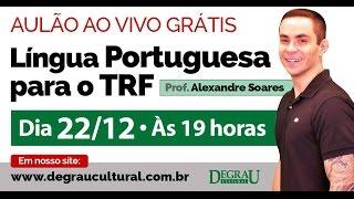 Começa em 11'43''. Aulão de Língua Portuguesa transmitido AO VIVO c...