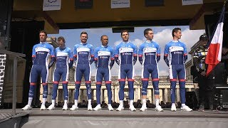 19.04.13 En immersion avec le Team TDE  - Paris Roubaix J-1