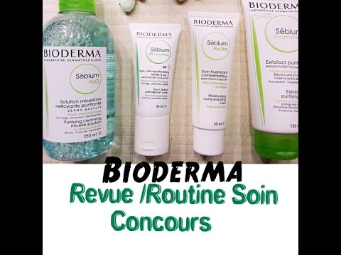 [Bioderma]: Revue , Routine Soin et Concours (FERME)