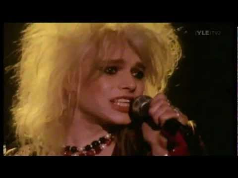 Hanoi Rocks- Dont' You Ever Leave Me (Music Video)