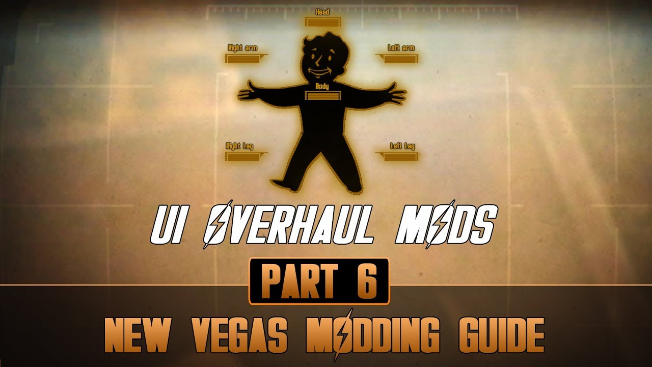 How to mod Fallout New Vegas #6 | User Interface Overhauls
