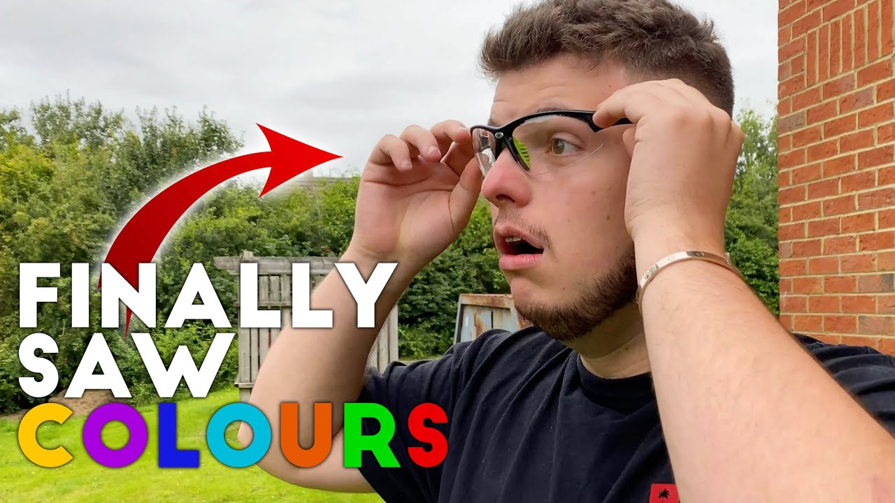 GLASSES CURED MY BRO's COLOURBLINDNESS!