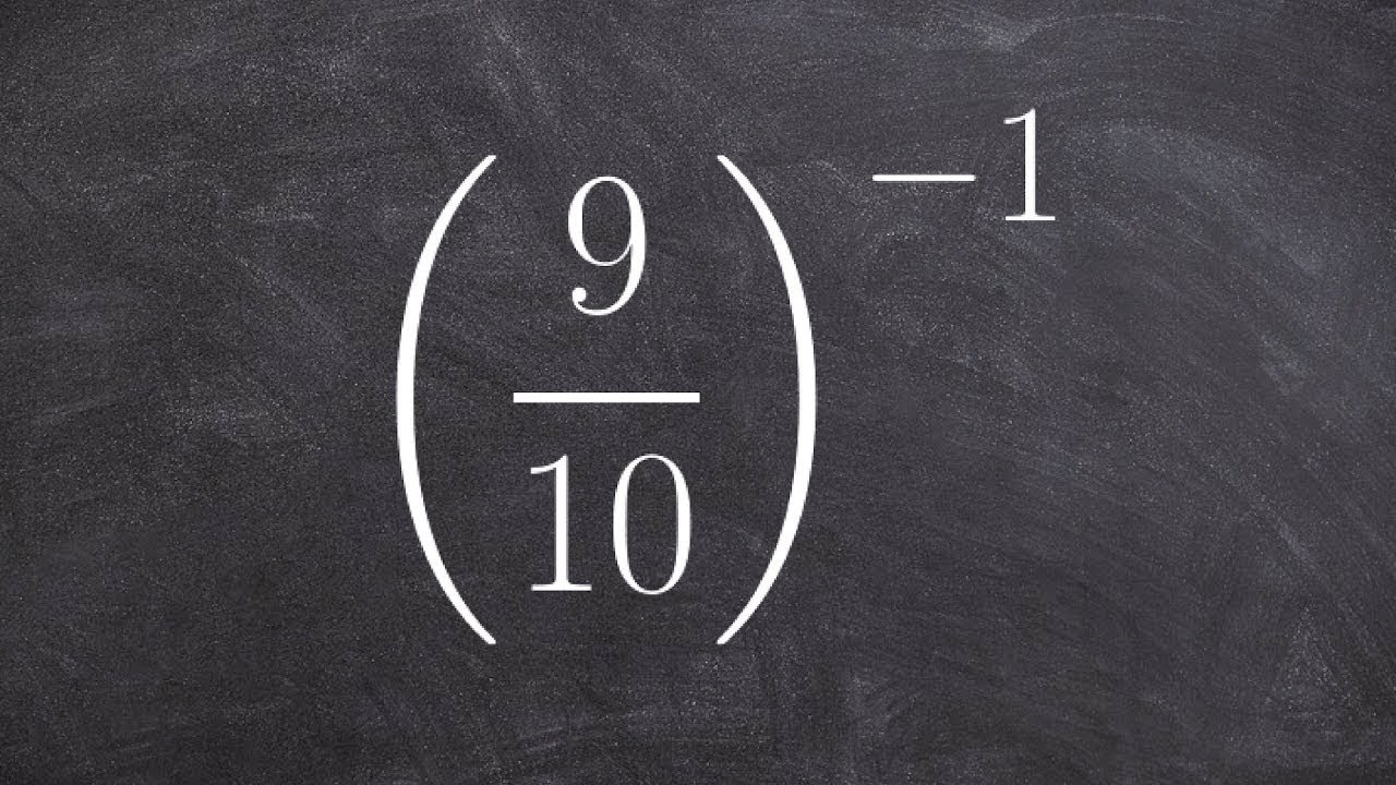 How to Rewrite an Expression With Positive Exponents