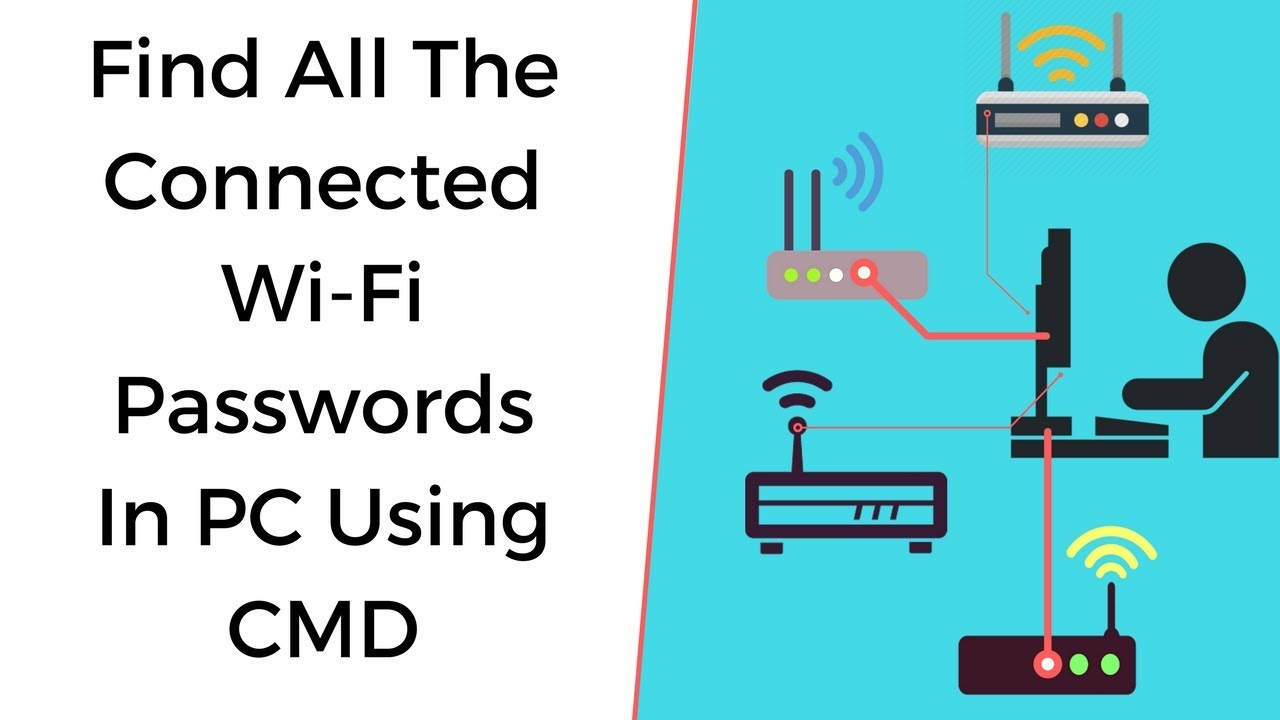 how to get wifi using cmd