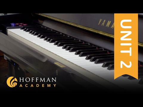 Stepping & Skipping - Piano Lesson 28 - Hoffman Academy