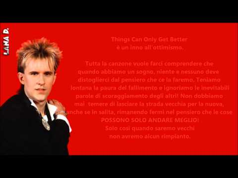 THINGS CAN ONLY GET BETTER *Howard Jones__ Traduzione