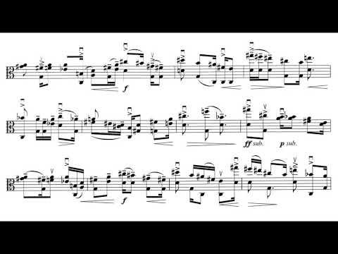Ligeti - Sonata for Solo Viola