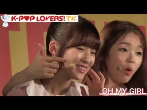 160716 OH MY GIRL 오마이걸 - Kpop Lovers TV in Shibuya