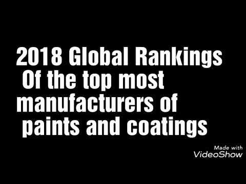 World top most paints brands 2018