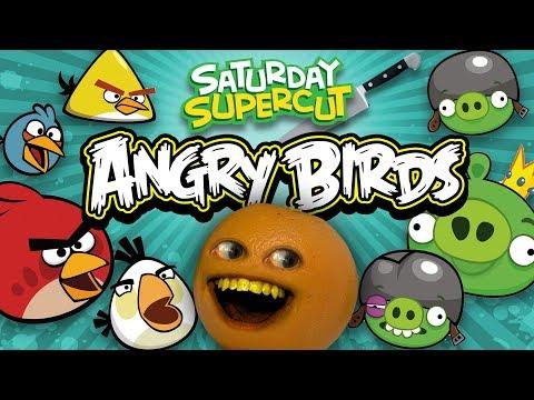 Annoying Orange vs Angry Birds [Saturday Supercut🔪]