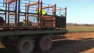 Forest nursery machine tree lifting