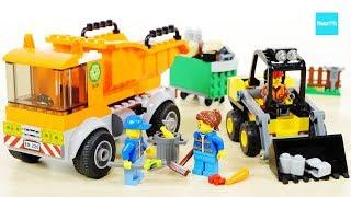 レゴ シティ 工事現場のシャベルカー 60219 ごみ収集トラック 60220 / LEGO City Construction Loader 60219 Garbage Truck 60220