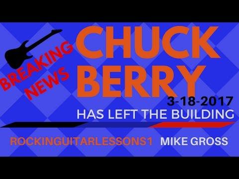 CHUCK BERRY DEAD at 90 - RGL NEWSDESK Tutorial by Mike Gross