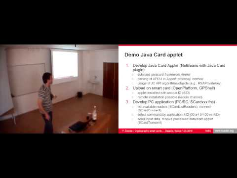 Petr Švenda - Cryptographic smart cards and their security