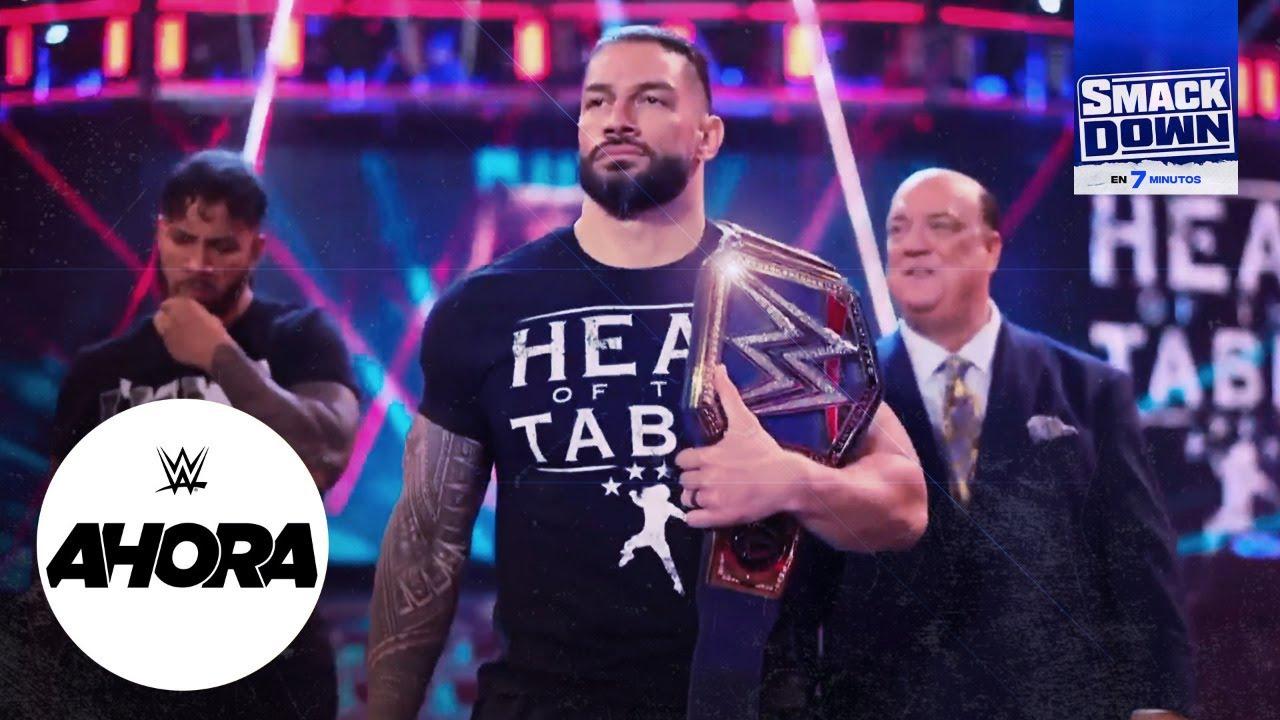 REVIVE SmackDown en 7 minutos: WWE Ahora, Ene 15, 2020