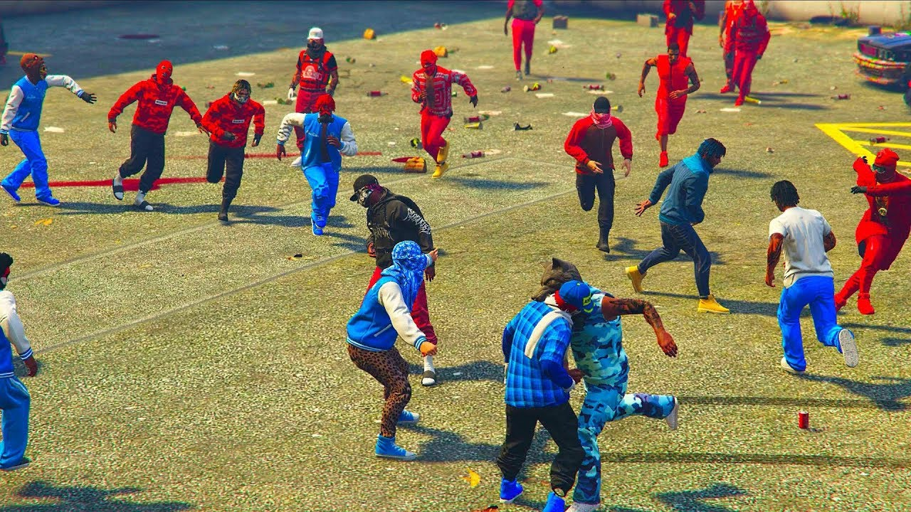 Image 85 of Bloods Vs Crips Fight ...