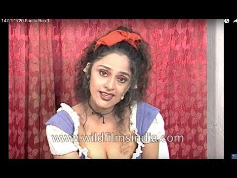 Sunita Rao sings 'Paree Hoon Main' in a TV show
