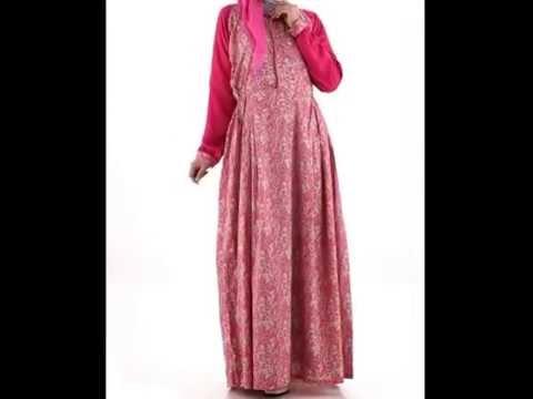 Model baju muslim modern terbaru 2015 untuk anak muda Foto baju gamis anak muda terbaru