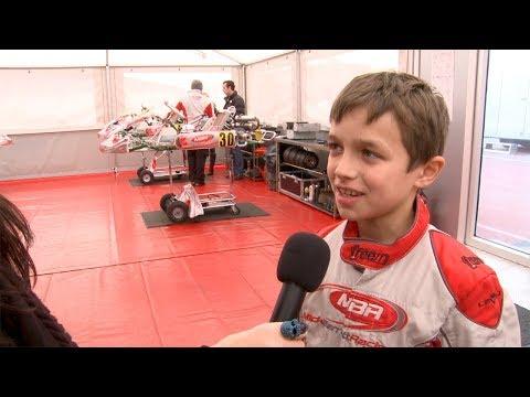 McLaren F1 Driver Lando Norris, Aged 11, Interviewed and racing karts