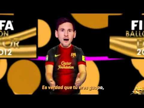 Cancion Balon de Oro 2012 Leo Messi y Cristiano Ronaldo | Intenautismo Crónico