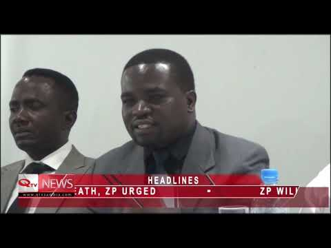 Q TV ZAMBIA 14th October 2018 News @10PM