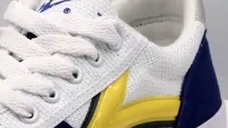 고급 탁구 배드민턴 미끄럼 방지 스포츠 캔버스 신발