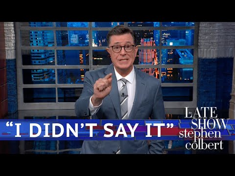 Stephen Colbert to Ilhan Omar 'Send Her Back' Chanters: Trump 'Threw You Under the Bus'
