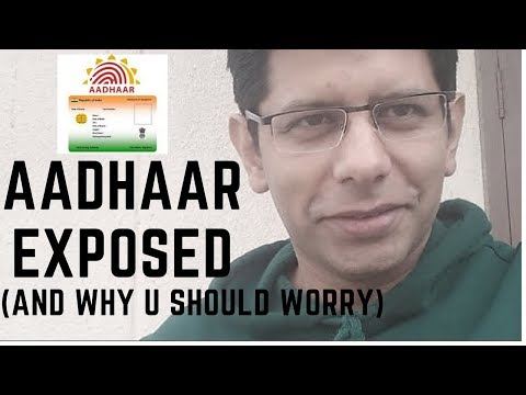 The biggest Revelation On Aadhaar & Why U Should Worry 😱😱