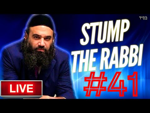 STUMP THE RABBI PART (41) Religious Hypocrisy, Mitzvah Vs. Murder, Disable Racist, Stealing From Goy
