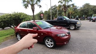 The 2006 Mazda3 thats Only $2450 ( LUNCH MONEY CARS ) BUY THEM CHEAP