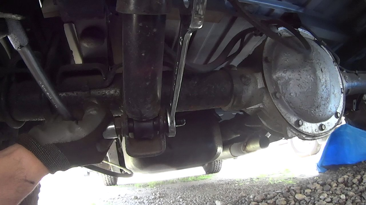 Rear Shock Replacement - Chevy Truck(1997 C1500) - YouTube