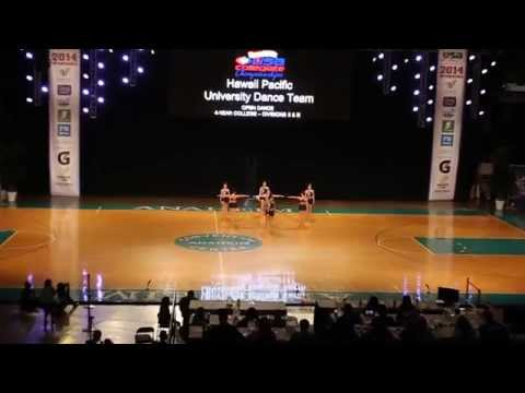 Hawaii Pacific University Dance Team 13-14 USA Competition