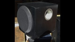 how sound Yamaha YST=SW216 Woofer Subwoofer