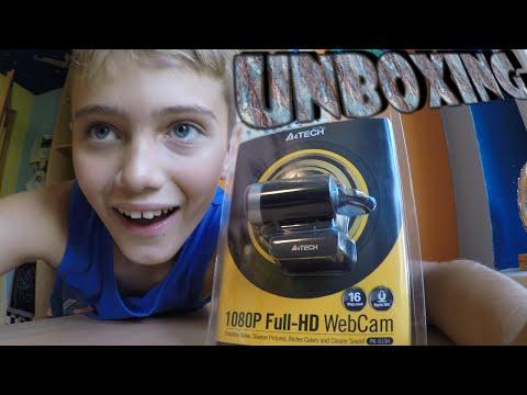 |UNBOXING| A4tech PK-910H Full HD WebCam