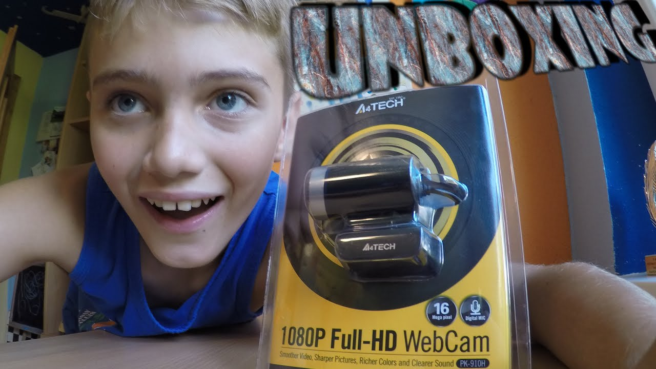5fbd8a14824 UNBOXING| A4tech PK-910H Full HD WebCam - YouTube