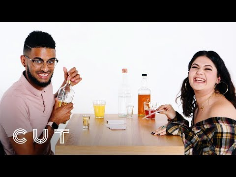 Meeting for the First Time After Matching on Tinder! (Abdul & Cameron)   Truth or Drink   Cut