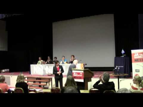 Hilsner til Nei til EUs landsmøte 2012
