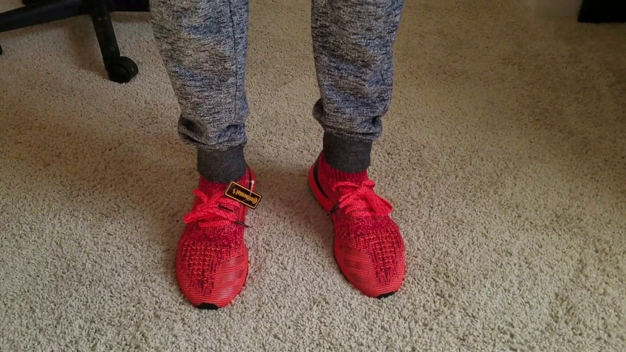 ec72f04f7 Vlog 75 Adidas Red Boost Ultraboost Uncaged LTD review BB4678 link to buy  in description