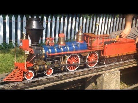 5 inch Gauge American 4-4-0 Washington Live Steam Model Locomotive
