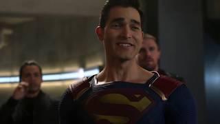 Супермен против злого Супермена Elseworlds Crossover Флэш, Стрела и Супергерл