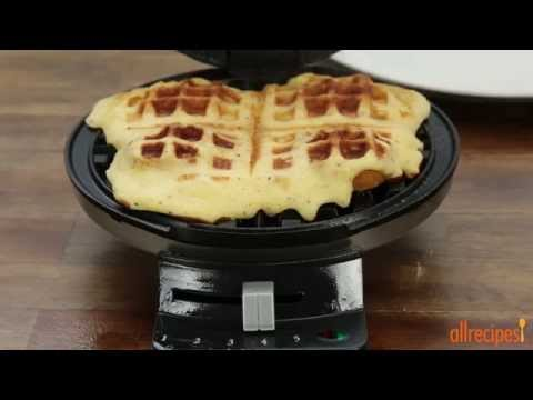 how-to-make-chicken-in-a-waffle-|-chicken-recipes-|-allrecipes.com
